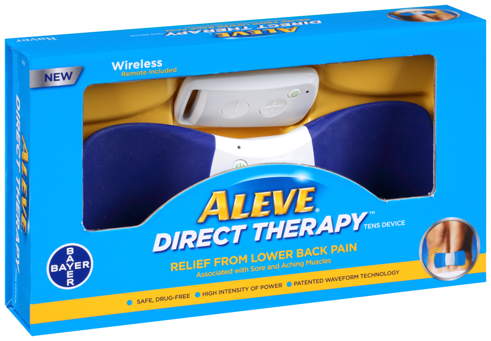 Aleve® Direct Therapy™ TENS Device Box