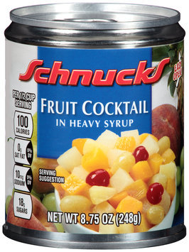 Schnucks® Fruit Cocktail in Heavy Syrup 8.75 oz. Can