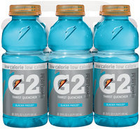 G2 G Series Perform Glacier Freeze Sports Drink 20 Oz Plastic Bottles