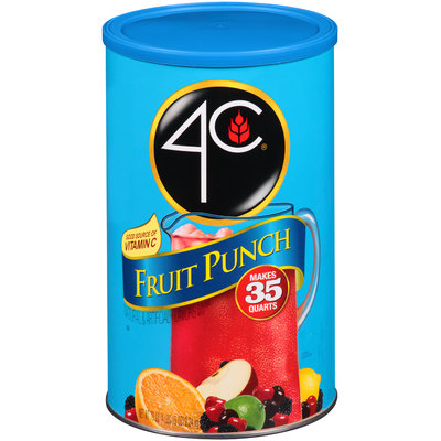 4C® Fruit Punch Drink Mix 79 oz. Canister