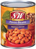 S&W Premium Frijoles Pintos Pinto Beans 29 Oz Can