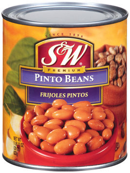 S&W Premium Frijoles Pintos Pinto Beans