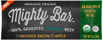Organic Prairie® Mighty Bar™ Organic Beef with Uncured Bacon & Apple