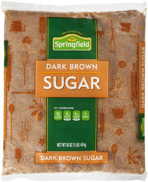 Springfield® Dark Brown Sugar 16 oz. Bag