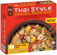 RICE GOURMET Thai Style Chicken Fried Rice 48 OZ BOX