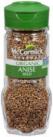 McCormick Gourmet™ Organic Anise Seed 1.37 oz. Bottle