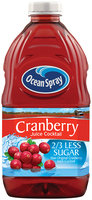 Ocean Spray® 2/3 Less Sugar Cranberry Juice Cocktail 64 fl. oz. Bottle