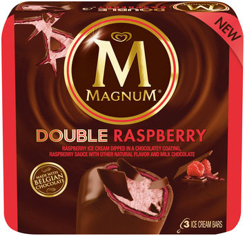 Magnum® Double Raspberry Ice Cream Bars 3 count Box