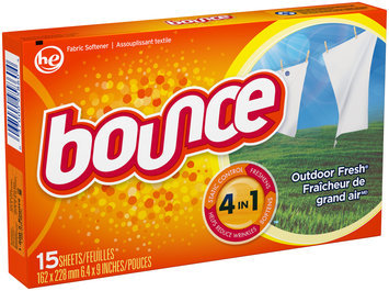 BounceSheetOutdoor Fresh15CT