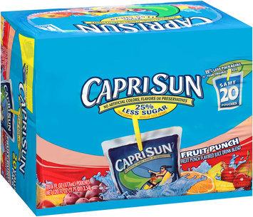 Capri Sun Juice Drink Fruit Punch
