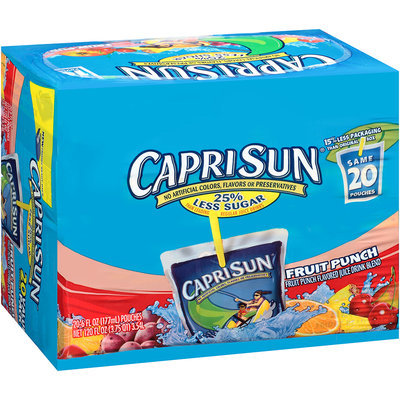 Capri Sun Juice Drink Fruit Punch