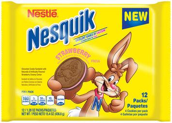 Nestlé® Nesquik Strawberry Cookie Sandwich 12 ct Packs