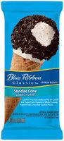 Blue Bunny® Blue Ribbon Classics® Sundae Cone Cookies 'N Cream Ice Cream Cone 4.3 fl. oz. Wrapper