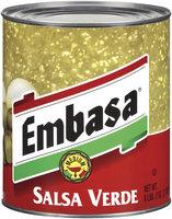 Embasa® Medim Salsa Verde 98 oz. Can