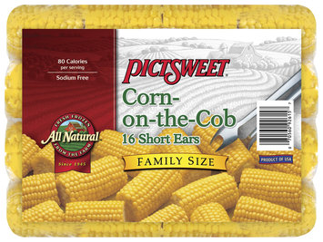 ALL NATURAL All Natural Short Ears Family Size Corn-On-The-Cob 16 CT BAG