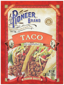 Pioneer® Brand Taco Seasoning 1.25 oz.