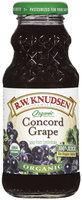 R.W. Knudsen Family® Organic Concord Grape Juice 8 fl. oz.