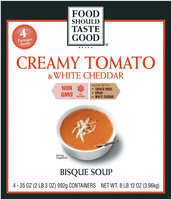 Food Should Taste Good™ Creamy Tomato & White Cheddar Bisque Soup