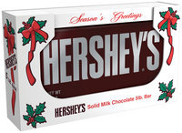 Hershey's Holiday Milk Chocolate Bar 5 lb. Bar
