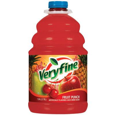 Veryfine Fruit Punch Juice 1 Gal Plastic Bottle