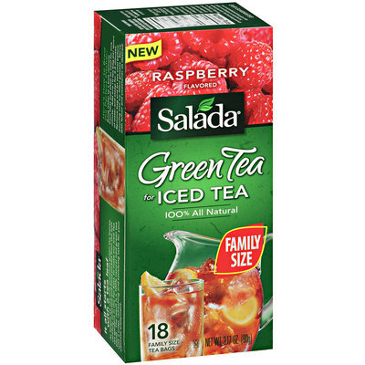 Salada® Green Tea for Iced Tea Raspberry Flavored 3.17 oz.