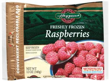 Haggen, Freshly Frozen, Raspeberries 12 oz