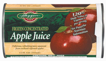 Haggen  Apple Juice 12 Oz Can