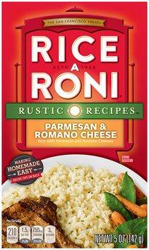Rice-A-Roni Nature's Way Parmesan & Romano Cheese Rice Mix 5 Oz Box