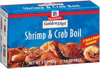 Golden Dipt 2 Ct Shrimp & Crab Boil 3 Oz Box