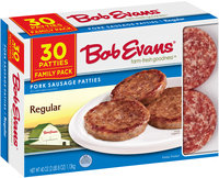 Bob Evans® Regular Pork Sausage Patties 30 ct Box