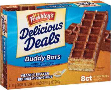 Mrs. Freshley's® Delicious Deals™ Peanut Butter Buddy Bars® Wrappers