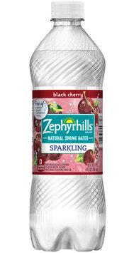 Zephyrhills Sparkling Natural Spring Water Black Cherry
