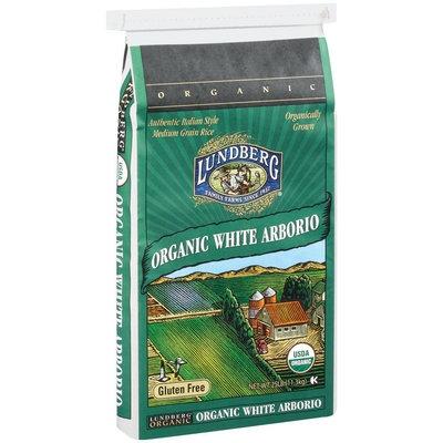 Lundberg Family Farms Og California White Arborio Rice Organic 25lb. Rice 25 Lb Bag