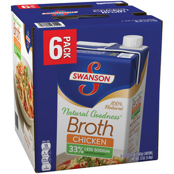 Swanson Natural Goodness Chicken Broth 6-32 oz.