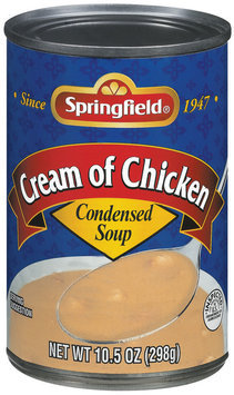 Springfield Cream of Chicken Condensed Soup 10.5 Oz Can
