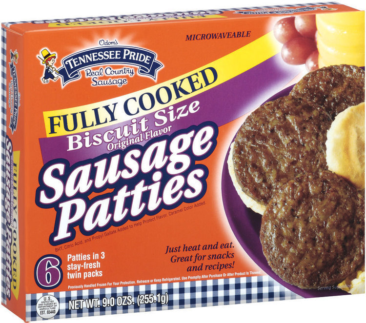 Tennessee Pride Fully Cooked Original Patties