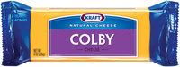 Kraft Natural Cheese Colby Chunk Cheese 8 Oz Brick