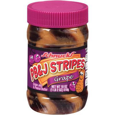 Schnucks® PB&J Stripes Grape 18 oz. Jar