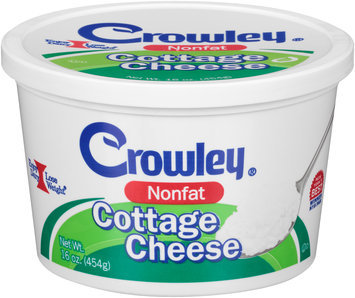 Crowley® Nonfat Cottage Cheese 16 oz. Tub