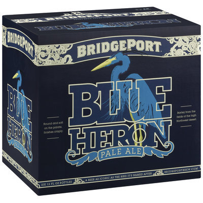 Bridgeport Blue Heron Pale Ale 12 Oz Beer 12 Pk Glass Bottles