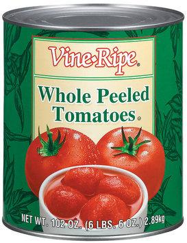 Vine-Ripe Whole Peeled Tomatoes 102 Oz Can