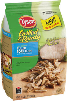 Tyson® Grilled & Ready® Pulled Pork Loin 18 oz. Bag