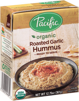 Pacific Organic Roasted Garlic Hummus