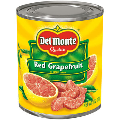 Del Monte® Red Grapefruit in Light Syrup 8 oz. Can