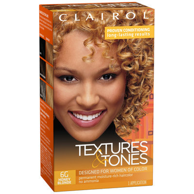 Clairol Textures & Tones 6G Honey Blonde Hair Color Kit