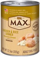Nutro® MAX® Senior Chicken & Rice Dinner Dog Food 12.5 oz. Can