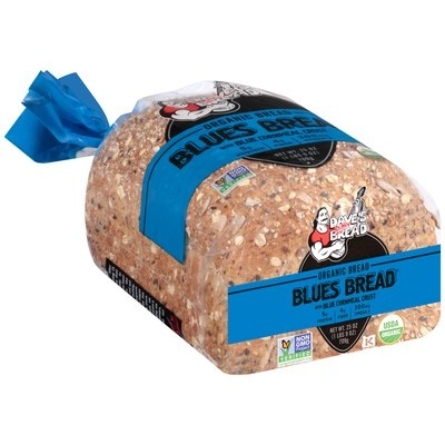 Dave's Killer Bread® Organic Blues Bread with Blue Cornmeal Crust 25 oz. Loaf