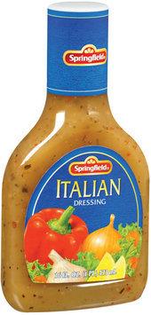 Springfield Italian Dressing 16 Fl Oz Plastic Bottle