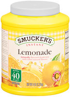 Smucker's Instant Naturally Flavored Lemonade Powdered Drink Mix 6 Lb Canister