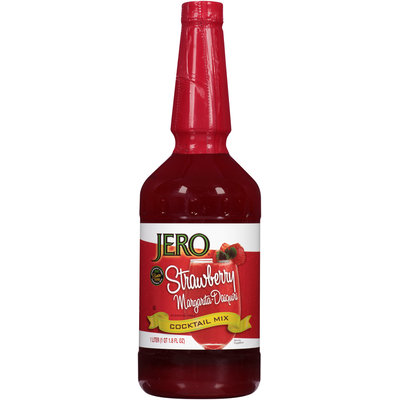 Jero® Strawberry Margarita Daiquiri Cocktail Mix 33.8 fl. oz. Bottle